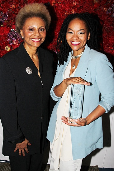 Theatre World Awards- Leslie Uggams- Crystal A. Dickinson