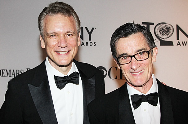 2012 Tony Award Best Pairs- Rick Elice  Roger Rees