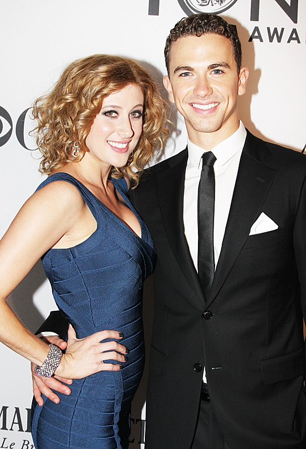 2012 Tony Award Best Pairs- Caissie Levy- Richard Fleeshman