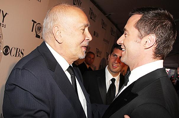 2012 Tony Award Best Pairs- Frank Langella- Hugh Jackman
