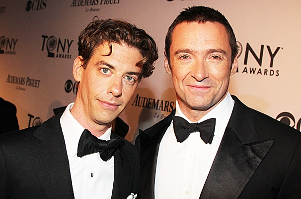 2012 Tony Award Best Pairs-Christian Borle  Hugh Jackman
