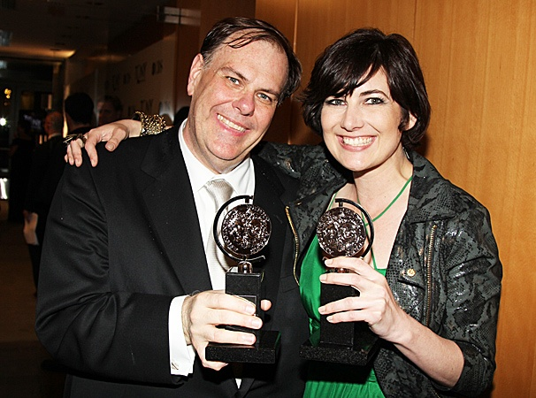 2012 Tony Awards Winner's Circle – Gregg Barnes- Paloma Young
