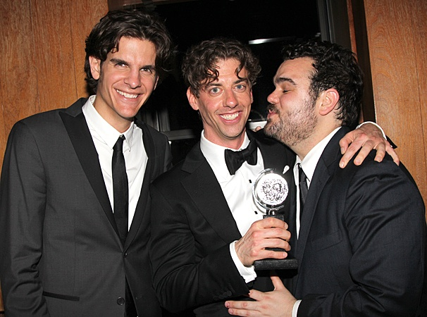 2012 Tony Awards – O&M After Party – Alex Timbers – Christian Borle – Greg Hildreth