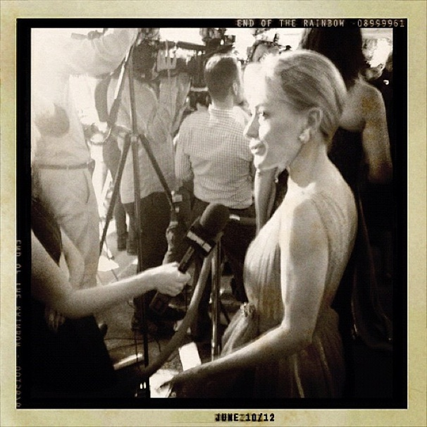 2012 Tony Awards Instagram Snapshots – Tracie Bennett
