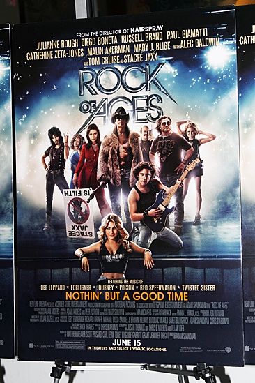 Rock of Ages  Movie Screening  poster