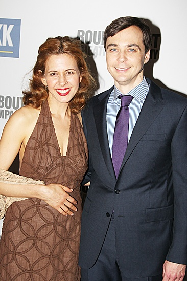 Harvey - Opening Night  Jessica Hecht  Jim Parsons