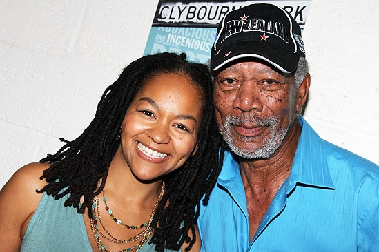 Morgan Freeman at Clybourne Park – Crystal A. Dickinson – Morgan Freeman