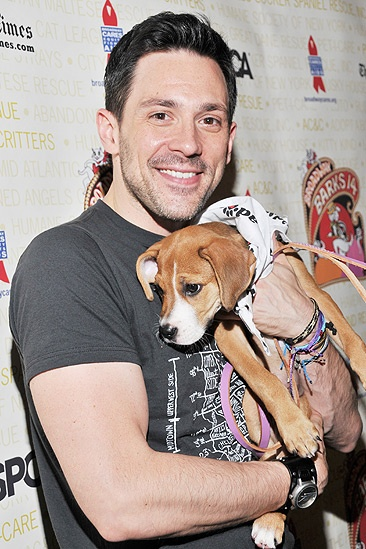 Broadway Barks 14 - Steve Kazee