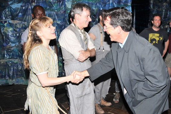Stephen Colbert at Starcatcher  Celia Keenan-Bolger 