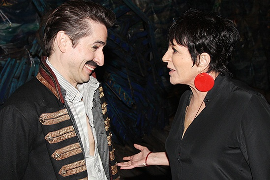 Liza Minnelli and more at Peter and the Starcatcher  Matthew Saldivar  Liza Minnelli 
