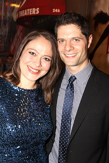 Bring It On Opening Night – Tom Kitt – Wife Rita Pietropinto