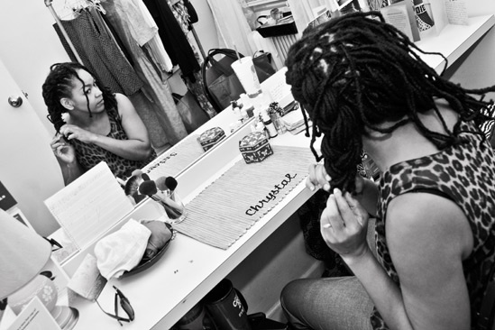 Backstage at Clybourne Park – Crystal A. Dickinson