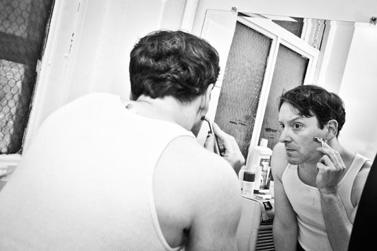 Backstage at Clybourne Park – Jeremy Shamos
