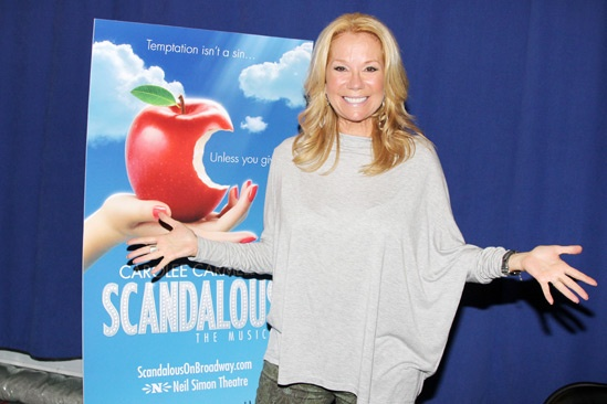 Scandalous Press Event  Kathie Lee Gifford