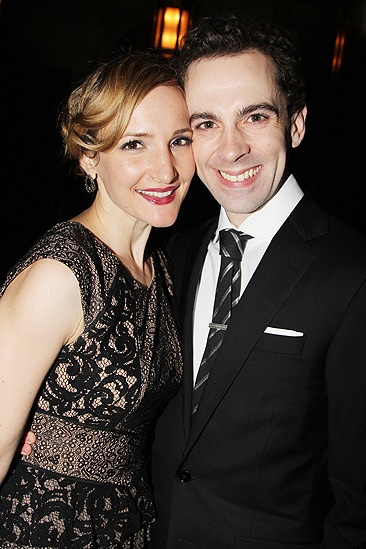 Chaplin – Opening Night – wife Maggie – Rob McClure