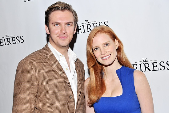 The Heiress  Meet and Greet  Dan Stevens  Jessica Chastain