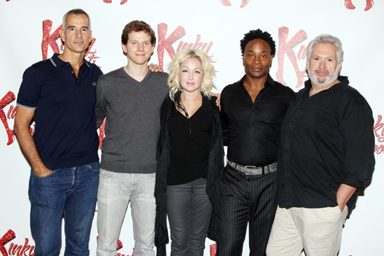 Kinky Boots- Jerry Mitchell-  Stark Sands-Cyndi Lauper- Billy Porter-Harvey Fierstein