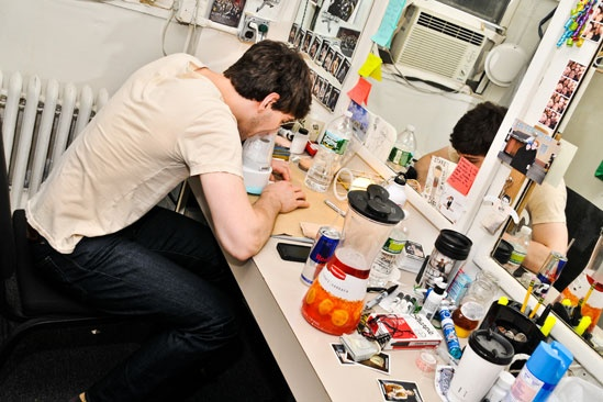 Newsies Backstage- Ben Fankhauser