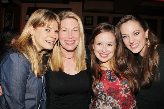 Carrie- Listening Party- Celia Keenan-Bolger- Marin Mazzie- Molly Ranson- Laura Osnes