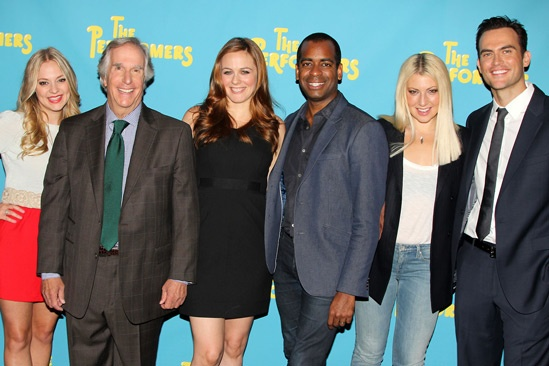 The Performers - Cast - Jenni Barber - Henry Winkler - Daniel Breaker - Ari Graynor - Cheyenne Jackson