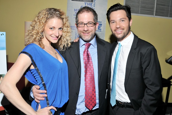 Marry Me a Little Opening Night  Lauren Molina  Jonathan Silverstein  Jason Tam
