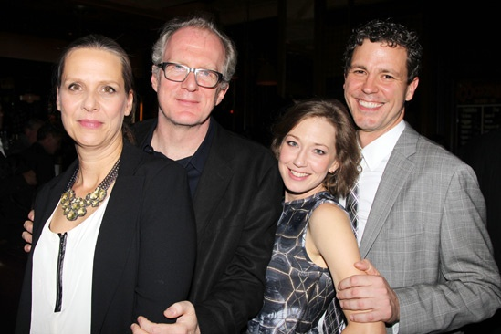 Who's Afraid of Virginia Woolf – Opening Night – Amy Morton – Tracy Letts – Carrie Coon – Madison Dirks