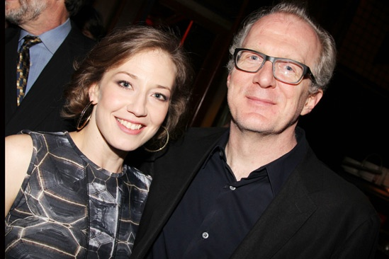 Whos Afraid of Virginia Woolf  Opening Night  Carrie Coon  Tracy Letts