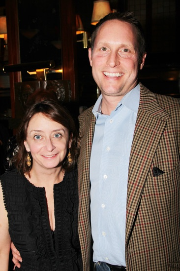 Who's Afraid of Virginia Woolf – Opening Night – Rachel Dratch – boyfriend John Wahl