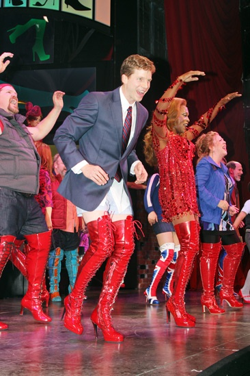 Kinky Boots- Stark Sands- Billy Porter