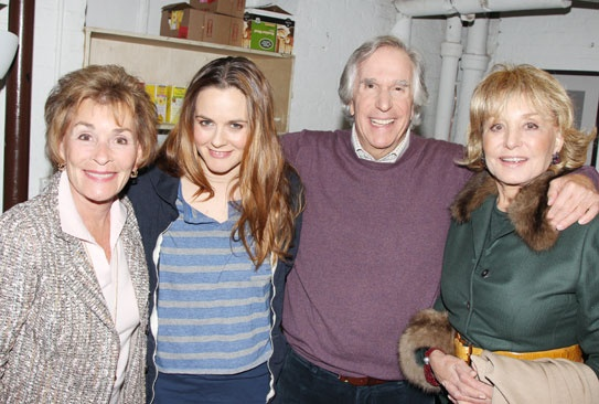 The Performers – Judy Sheindlin – Alicia Silverstone – Henry Winkler – Barbara Walters