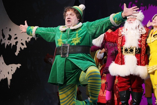 Elf – Curtain Call – Nov 9 – Jordan Gelber – Wayne Knight – Leslie Kritzer