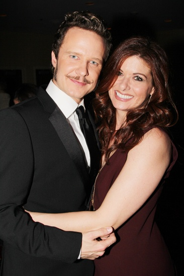 'Mystery of Edwin Drood' Opening Night — Will Chase — Debra Messing