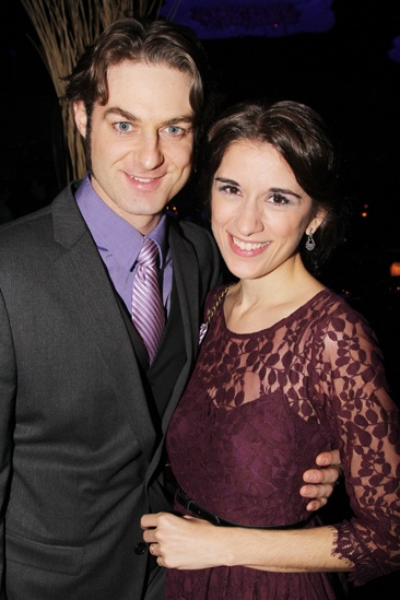 'Mystery of Edwin Drood' Opening Night — Spencer Plachy — Laura Kaldis