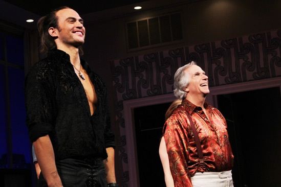 The Performers - opening night - Cheyenne Jackson - Henry Winkler 