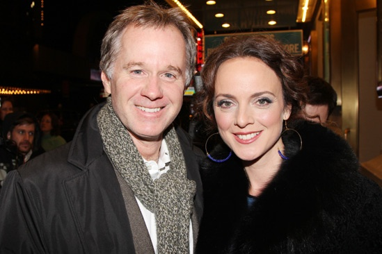 The Performers  opening night  Patrick McEnroe  Melissa Errico