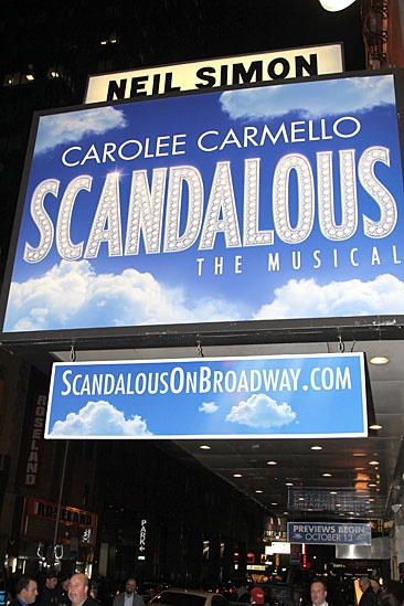 Scandalous- Neil Simon Theatre