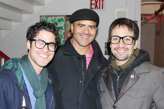 Cotton Club Parade- Darren Criss- Christopher Jackson- Lin Manuel Miranda