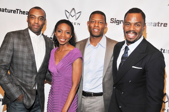 The Piano Lesson – Opening Night – Maurice McRae - Sharon Washington – Korey Jackson – Colman Domingo