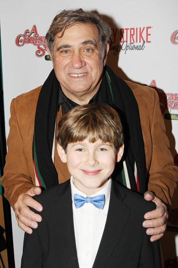 A Christmas Story Opening Night  Dan Lauria  Johnny Rabe