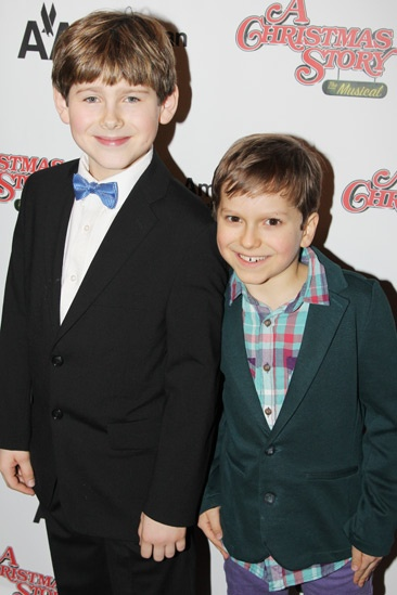 'A Christmas Story' Opening Night — Johnny Rabe — Zac Ballard