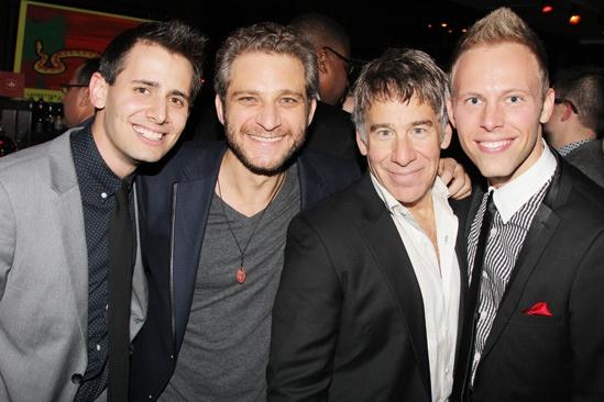 'A Christmas Story' Opening Night — Benj Pasek — Jeff Marx — Stephen Schwartz — Justin Paul