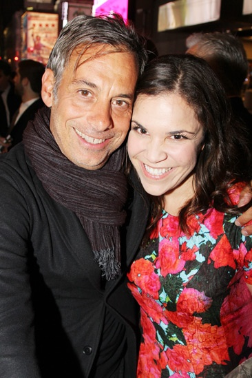 'A Christmas Story' Opening Night — Joe Mantello — Lindsay Mendez