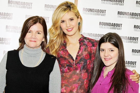 Picnic Meet and Greet  Mare Winningham  Maggie Grace  Madeleine Martin