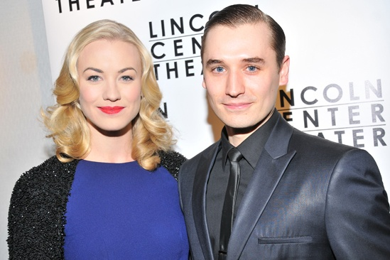 Golden Boy  opening night  Yvonne Strahovski  Seth Numrich
