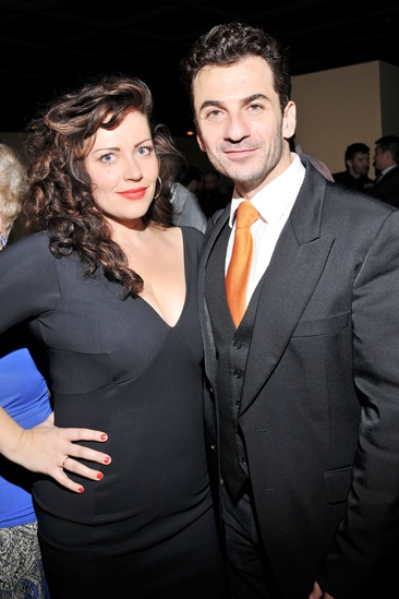 Golden Boy – opening night – Dagmara Dominczyk – Michael Aronov