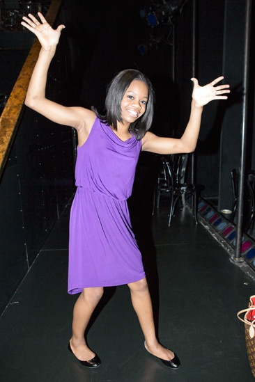 Gabby Douglas at 'Chicago' – Gabby Douglas