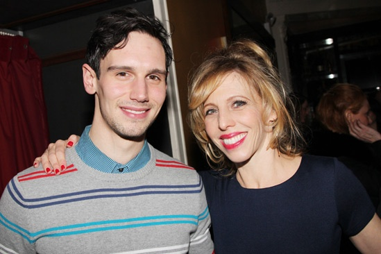 Picnic Opening Night  Cory Michael Smith  Maddie Corman
