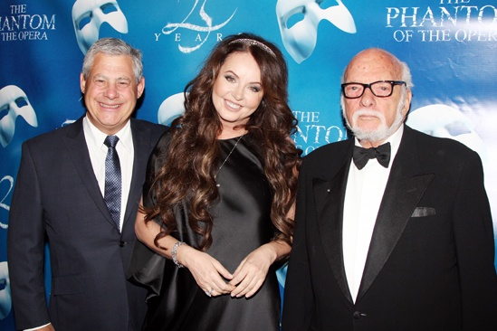 Phantom  25th Anniversary  Cameron Mackintosh  Sarah Brightman  Hal Prince