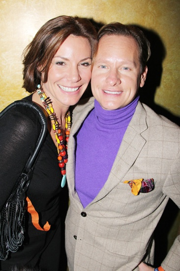 Manilow on Broadway – opening night – Countess LuAnn De Lesseps – Carson Kressley