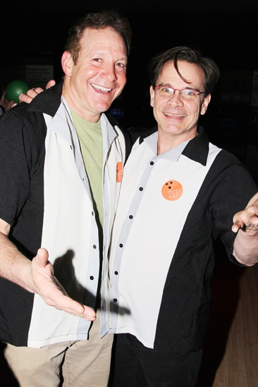 Second Stage Bowling 2013 - Steve Guttenberg – Peter Scolari